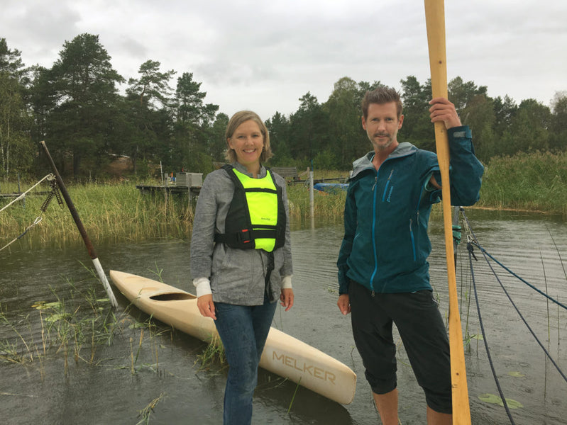 Swedish Minister Paddle 3D-Printed Kayak