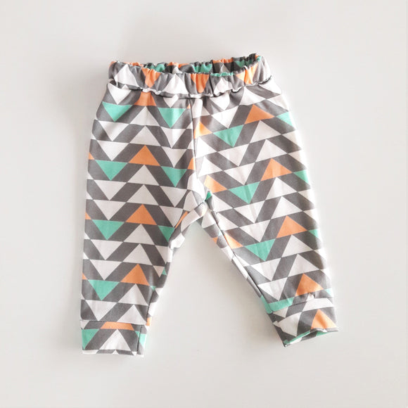 Legging en coton bio triangles