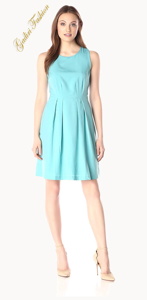 Pretty Women's Sleeveless Fit and Flare Pretty Dress