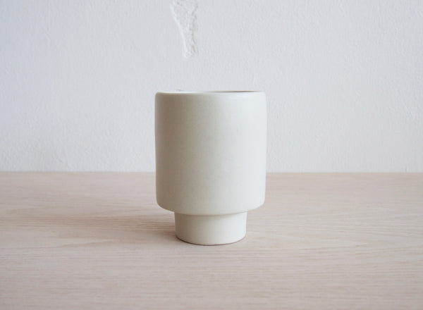 Kana Pot Small - White