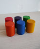 Kids Set of 6 Colored Cups