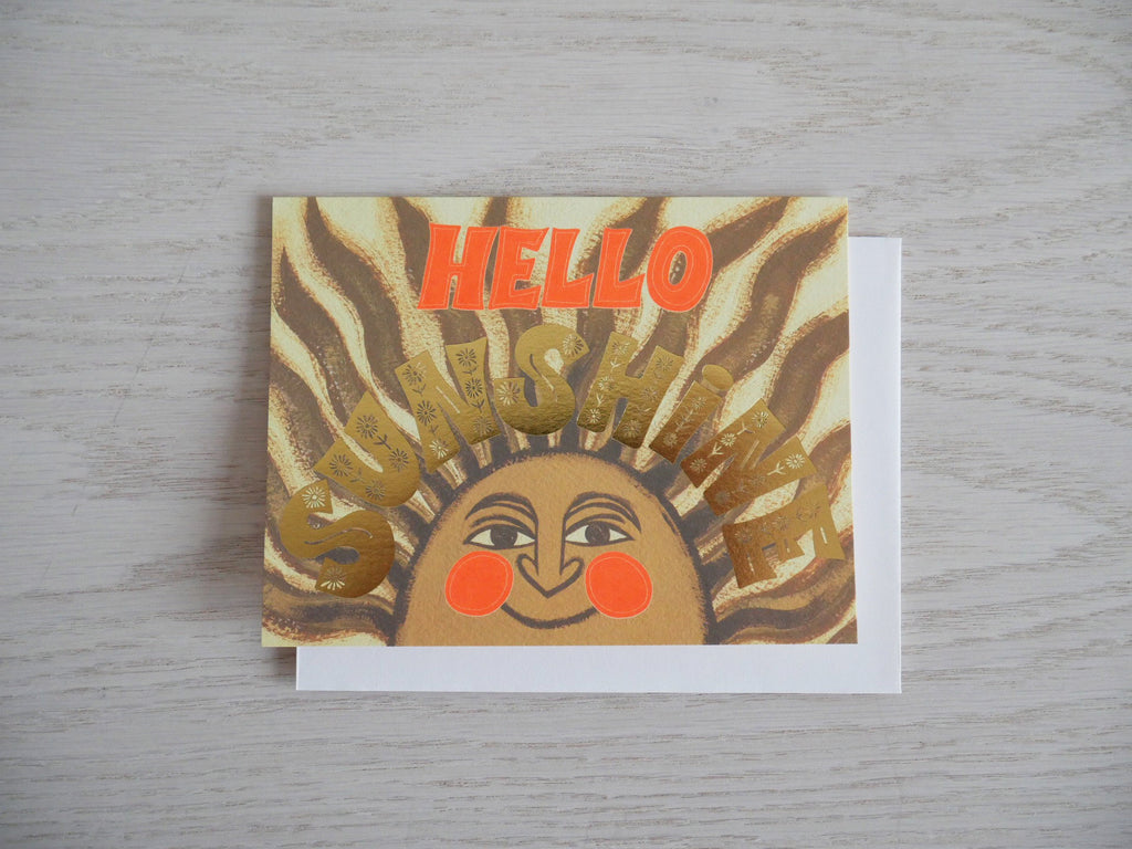 Hello Sunshine Everyday Card