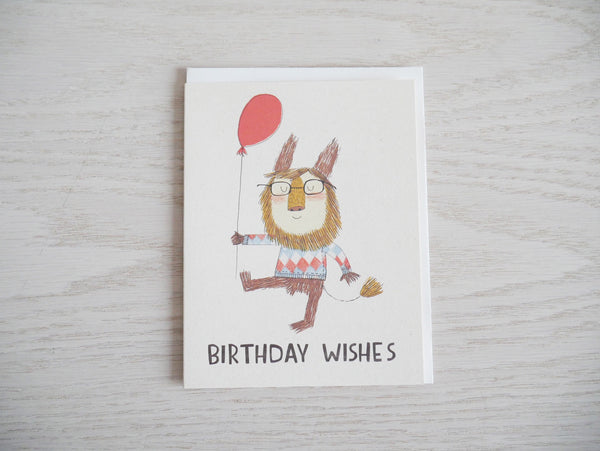 Birthday Lion Card