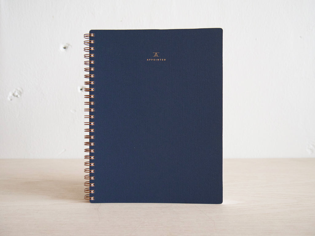 Workbook - Oxford Blue - Blank