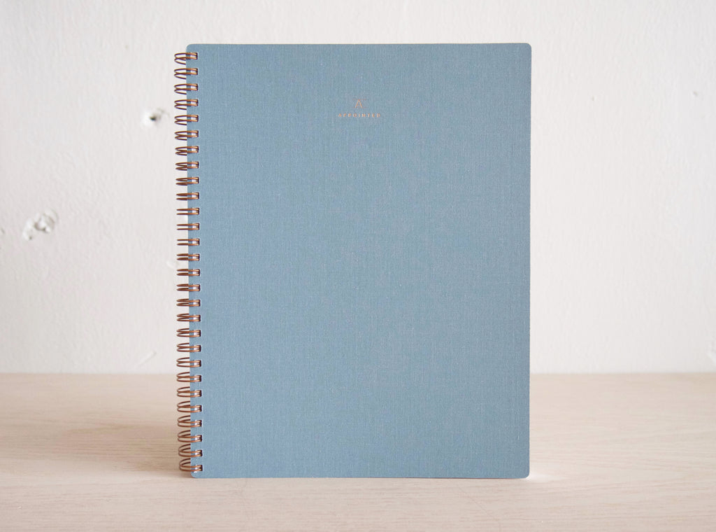 Notebook - Chambray Blue - Blank