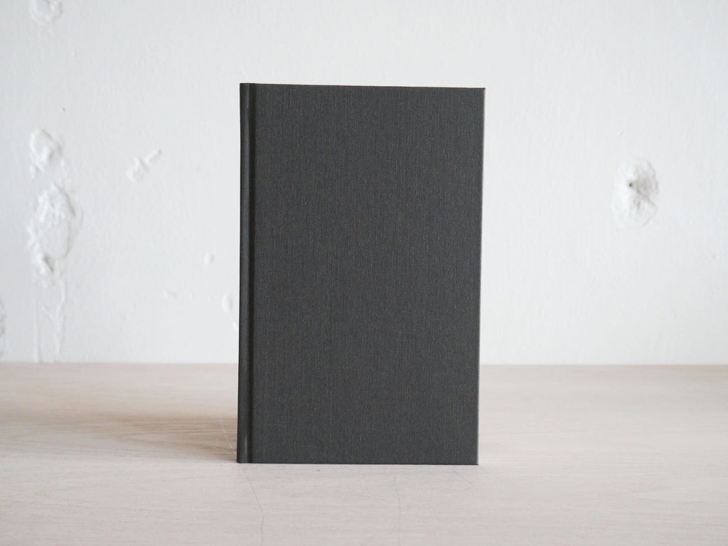 Year Task Book in Charcoal Gray