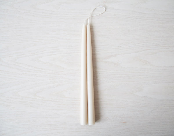 Taper Candles - Parchment
