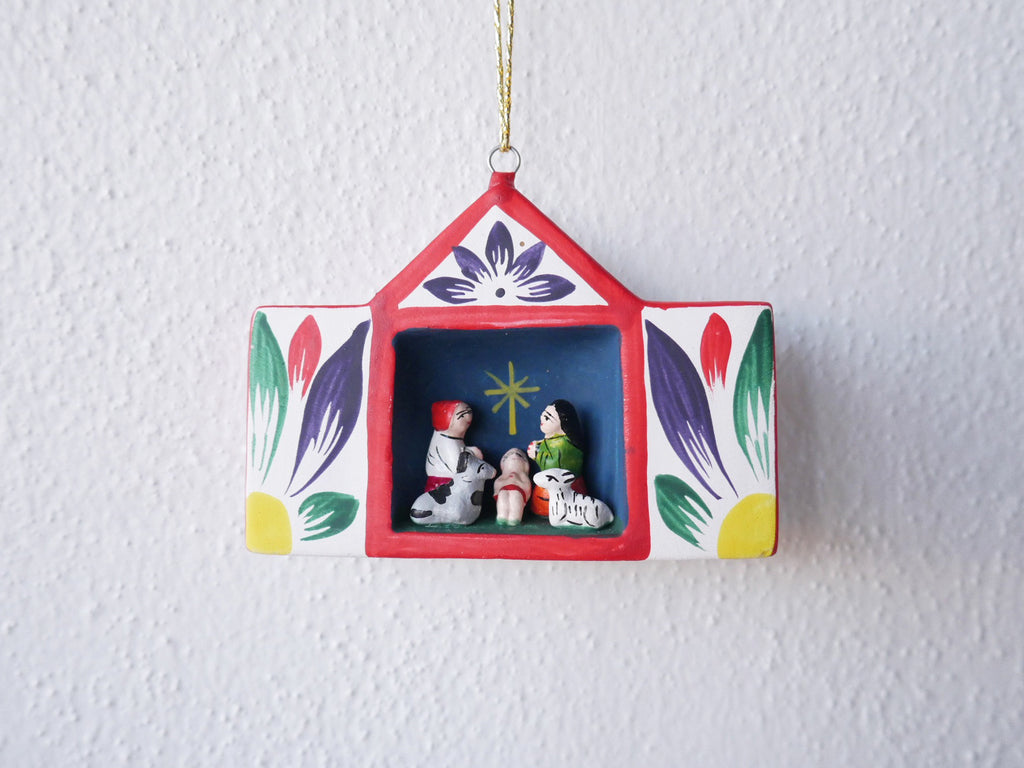 Clay Retablo Ornament