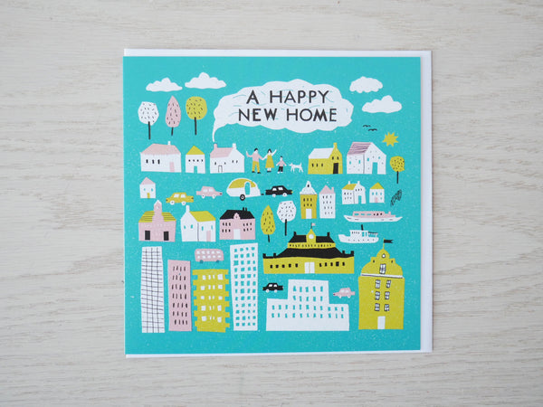 A Happy New Home Card