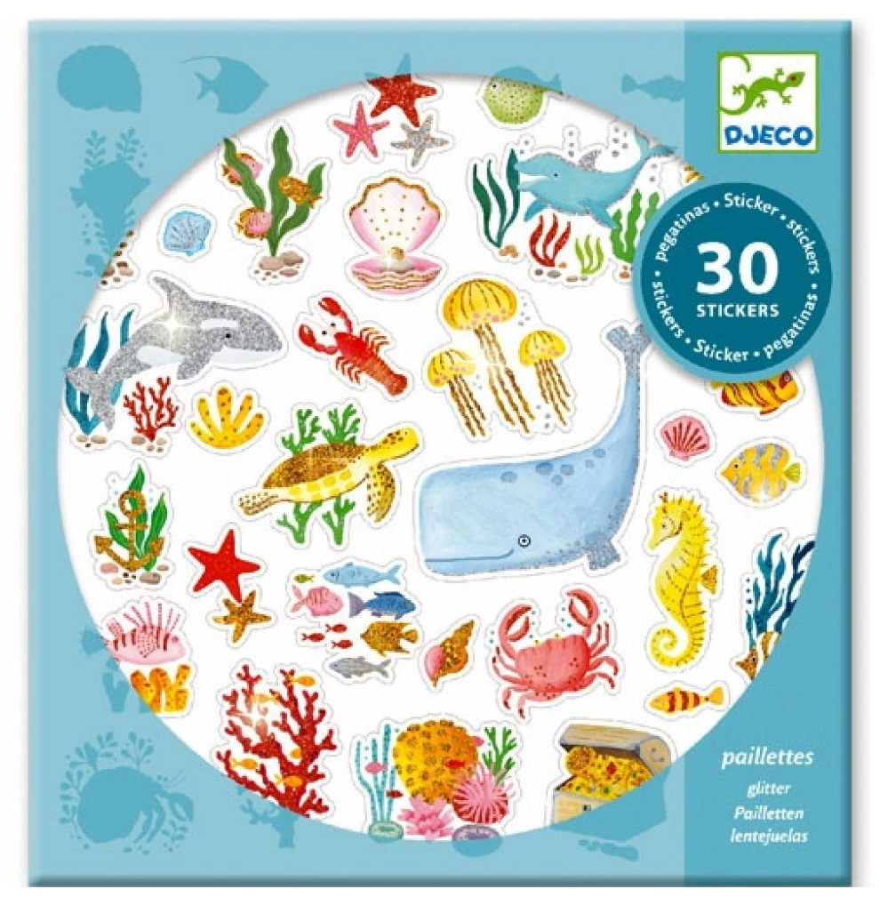 Petit Gift Stickers - Aqua Dream