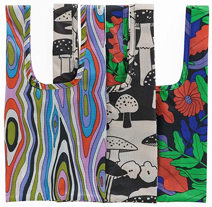 Set of 3 Reusable Bags - Fancy Animal