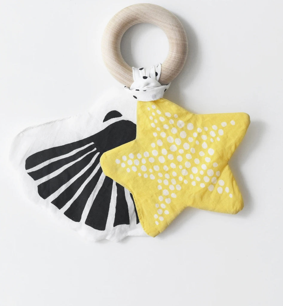 Crinkle Teether - Starfish