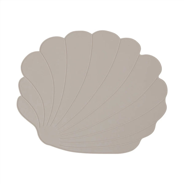Seashell Placemat - Clay