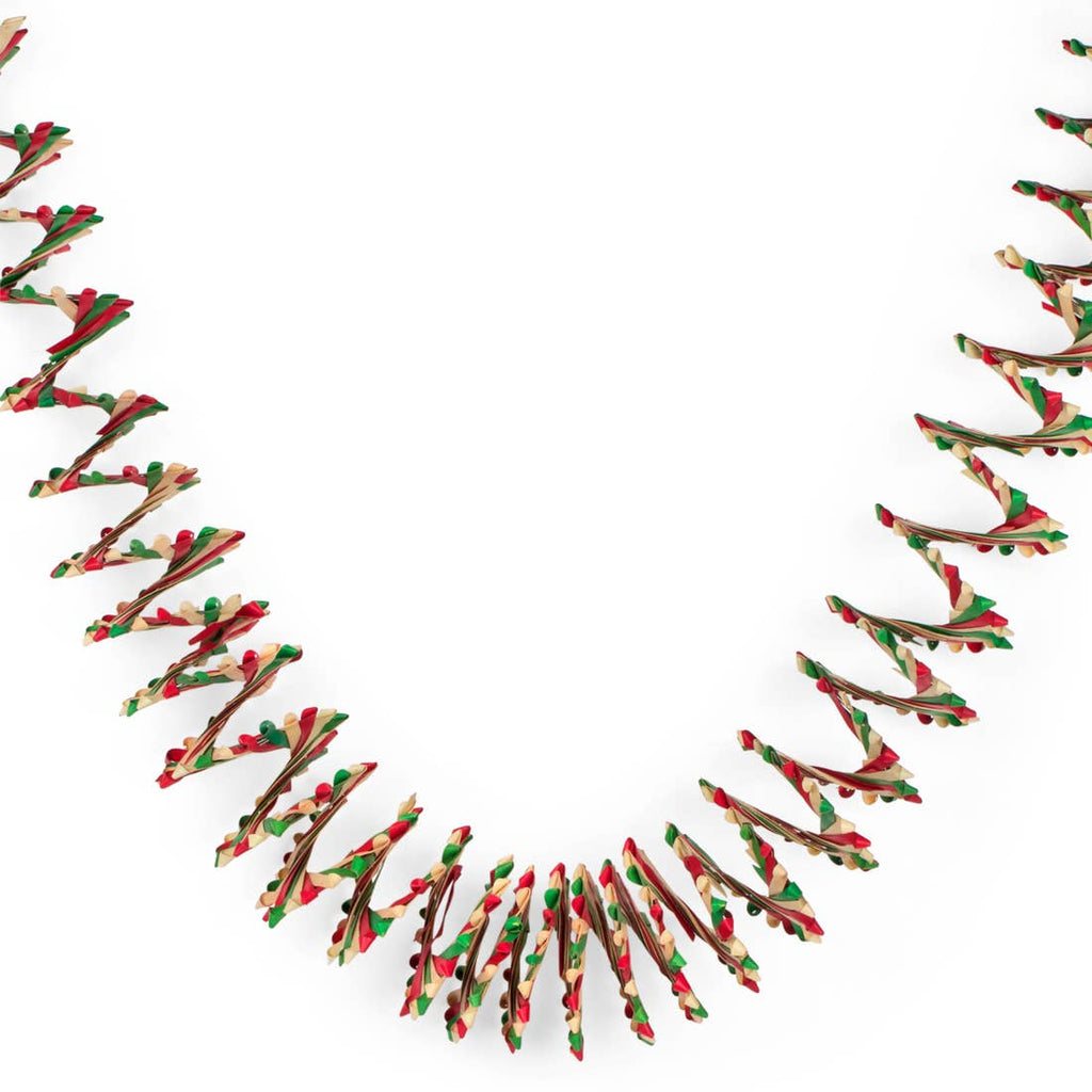 Holiday Palm Leaf Streamer