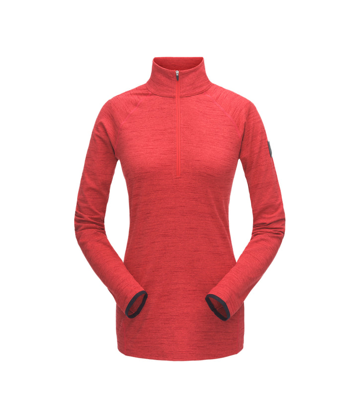 WOMEN'S UNYTE ZIP T-NECK