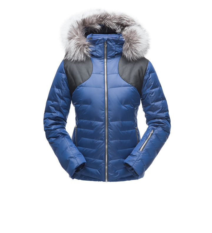 WOMEN'S FALLINE REAL FUR JACKET