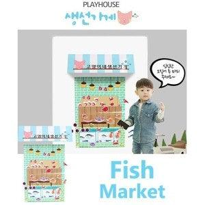 Magnetic Play House - Fish Market