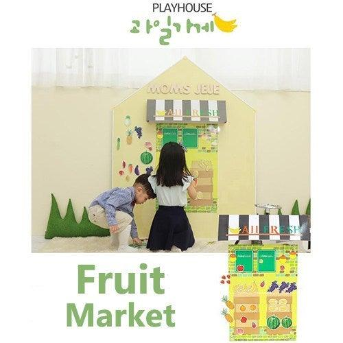 Magnetic Play House - Fruit Market