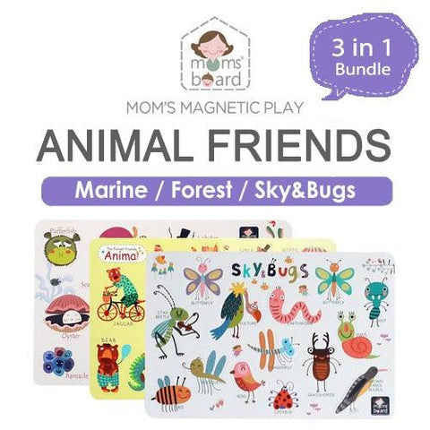 Magnetic Animal Friends – Bundle 3 sets