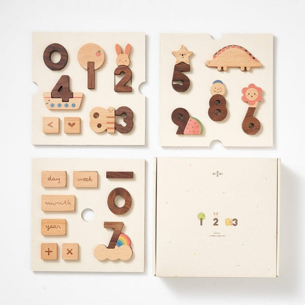 [PRE-ORDER] 'OIOIOOI' Numbers Play Set