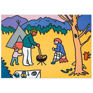 A3 Poster – Camping