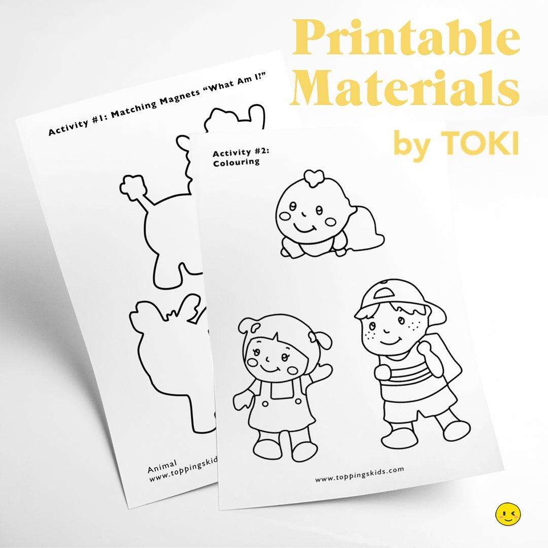 Printable Materials 'Felt' - Colouring