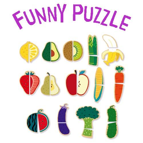 Funny Puzzle – Fruit & Vegetable