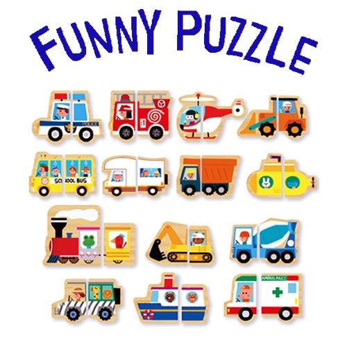 Funny Puzzle – Vehicle