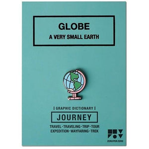 Pin Badge – Globe