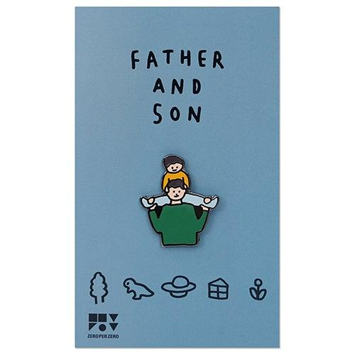 Pin Badge – Father and Son