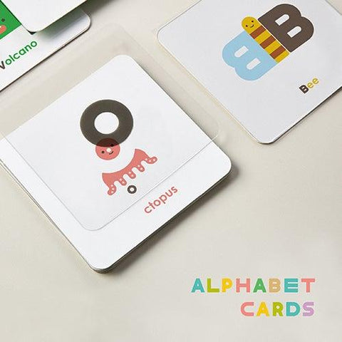'OIOIOOI' Alphabet Card