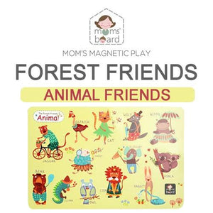 Magnetic Animal Friends – Forest (Opp)
