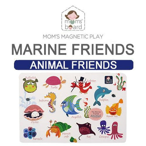 Magnetic Animal Friends – Marine (Opp)