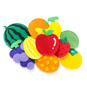Magnetic Felt - Fruits