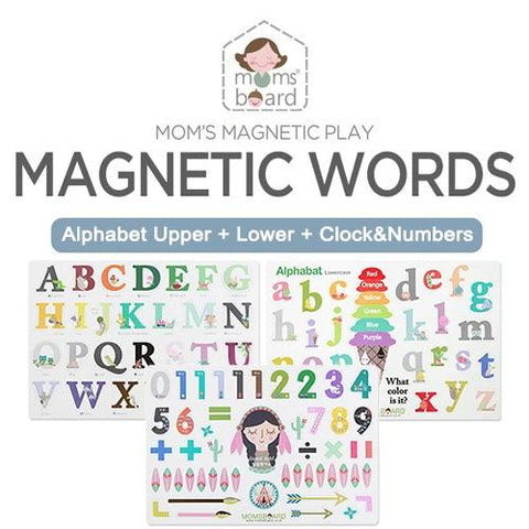 [PRE-ORDER] Magnetic Word – Alphabet (Upper / Lower)