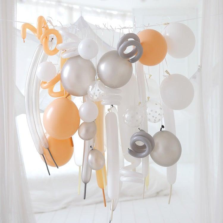 Variety Balloon Kit - White Blush