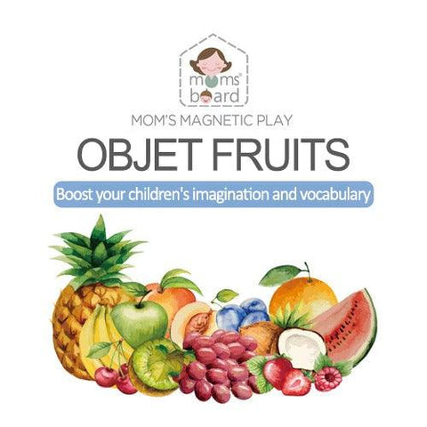 Magnetic Objet – Fruits