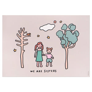 A3 Poster - Sisters