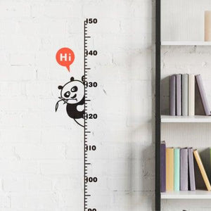 Growth chart sticker – Panda