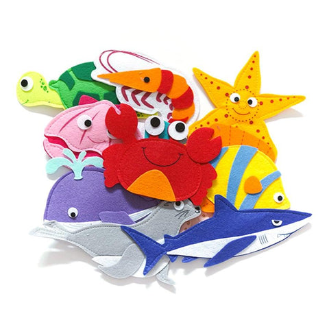 Magnetic Felt - Sea Creatures