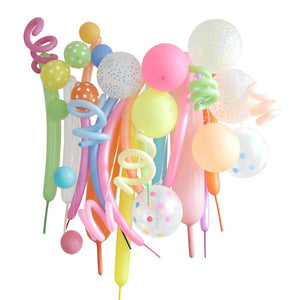 Variety Balloon Kit - Neon