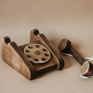 Retro Wooden Telephone