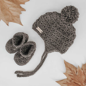 Crochet Hat & Booties Deal