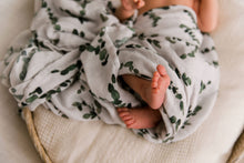 Load image into Gallery viewer, Eucalyptus Swaddle Wrap