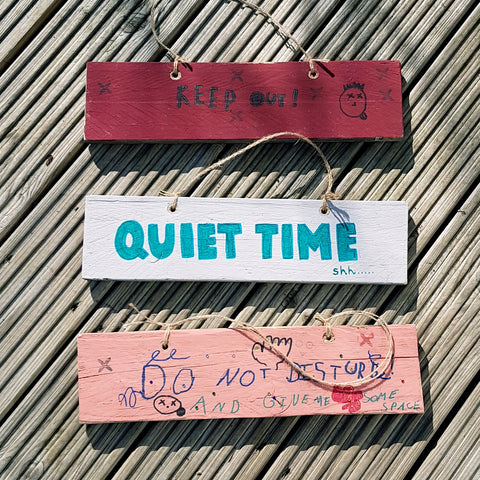 Handmade Wooden Signs, upcycled pallet signs, do not disturb sign, upcycled sign