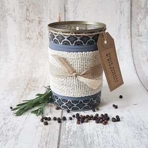 Black Pepper and Grapefruit Upcycled Candle - KICA Living