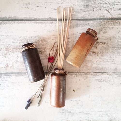 Brown Vintage Ink Bottle Reed Diffuser - KICA Living