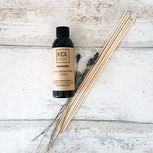 Lavender Reed Diffuser Refill (100ml) - KICA Living