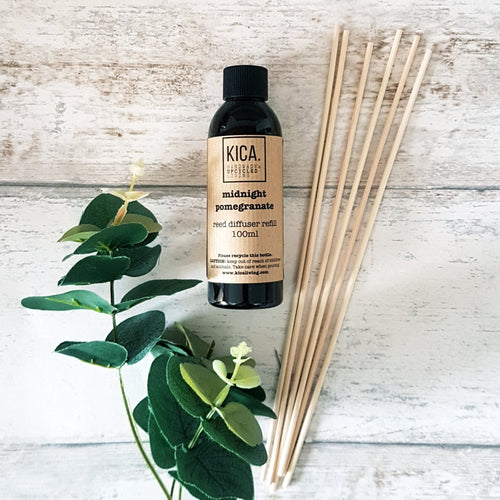 Midnight Pomegranate Reed Diffuser Refill (100ml) - KICA Living