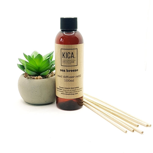 Sea Breeze Reed Diffuser Refill (100ml) - KICA Living